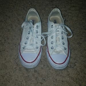 Converse White Low Tops